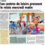 Courrier Picard centres de loisirs Compiègne
