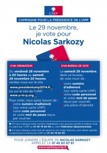Vote Sarkozy UMP