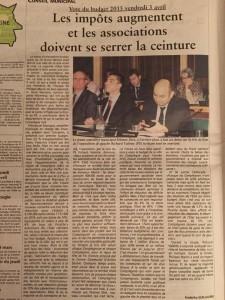 Oise Hebdo 8 avril 2015 budget Compiègne