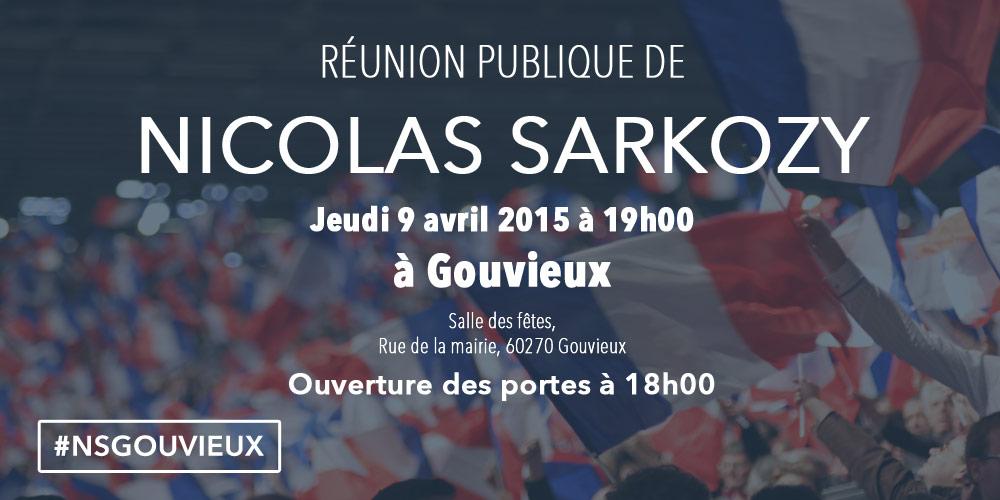 Invitation Gouvieux Sarkozy Oise