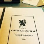 conseil municipal Compiègne 19 juin 2015