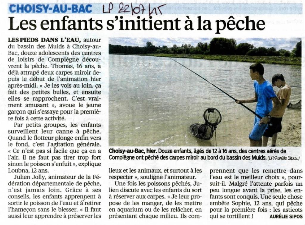 LP 22072015 - Les enfants s'initient à la pêche