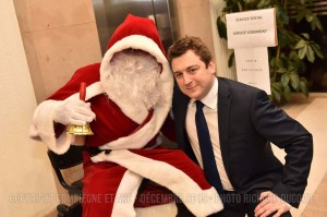 Père Noël centres aérés Compiègne 2015