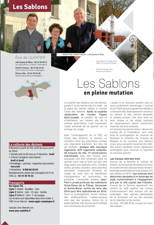 Annuel Compiègne Sablons 2016