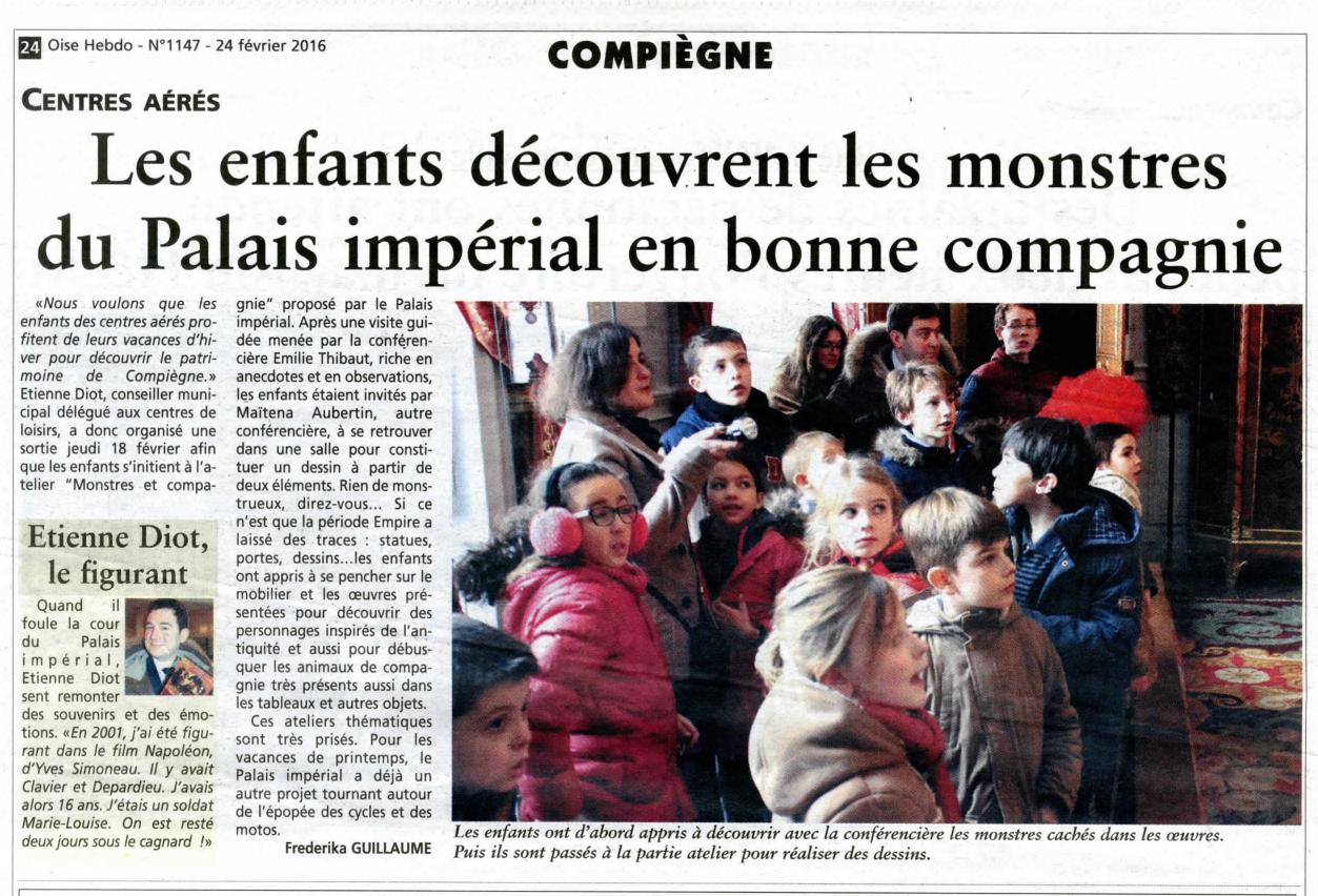 Oise Hebdo centres de loisirs Compiègne 24022016