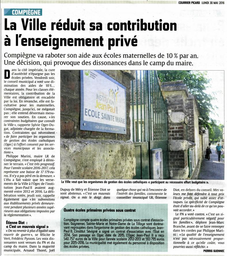 Courrier Picard 30 mai 2016