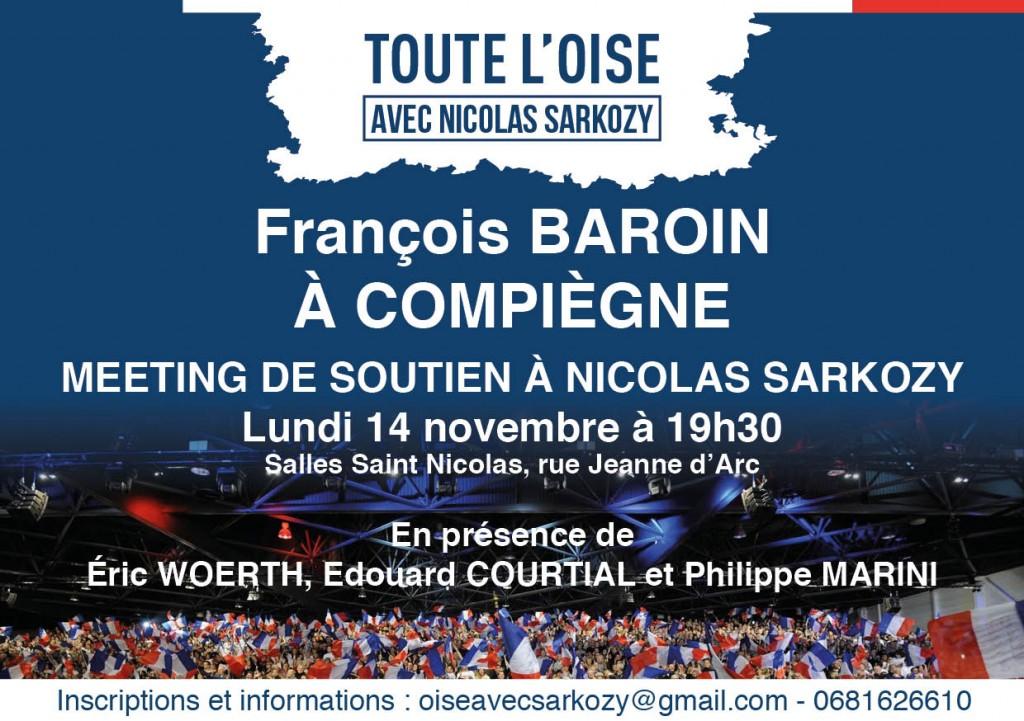 François Baroin à Compiègne le 14 novembre