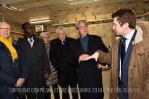 Inauguration Dubillot Compiegne